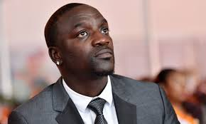 Akon lighting up Africa