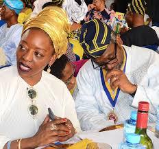 Salamatu, The Wife Of House of Representatives Speaker, Femi Gbajabiamila, steps out in all white ensemble (photos)