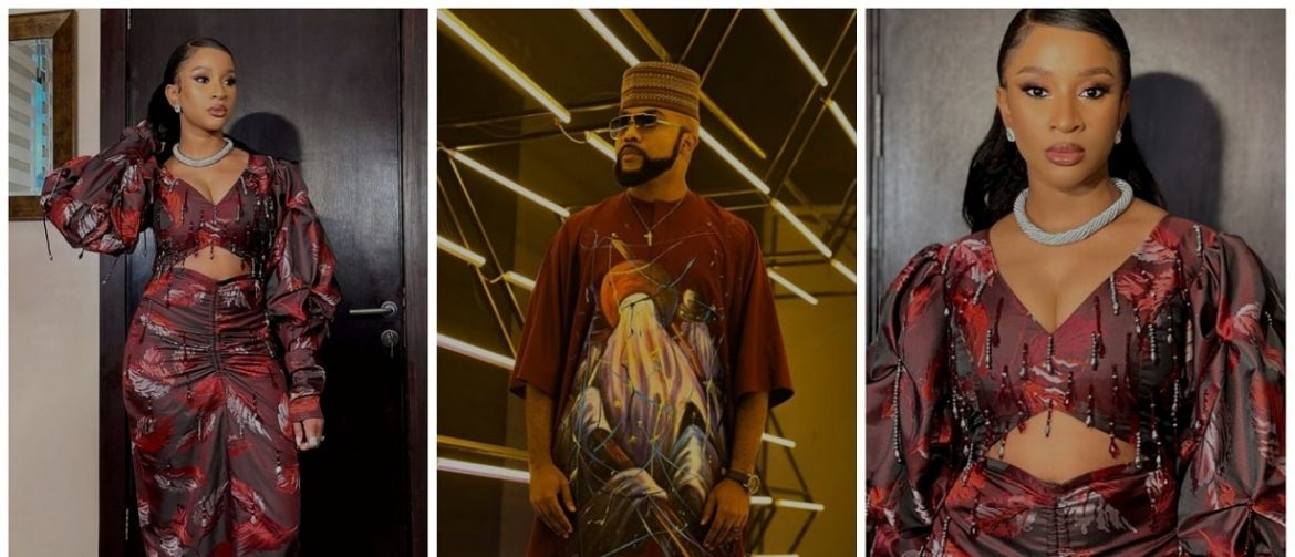 """""""Your husband carry eye go market"""" – Banky W says as he gushes over new photos of wife, Adesua Etomi"""